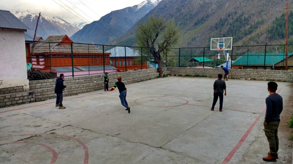 Every valley has its own jugaad to find a pitch for playing cricket