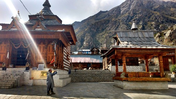The Mathi devi temple in Chitkul is said to be the last point of the Kinnaur Kailash Parikrama