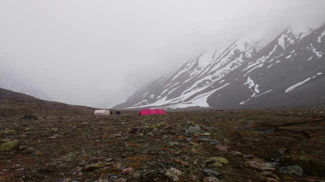 Campsite at Gundar